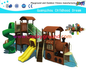 Backyard Playground Equipment Train Modeling Outdoor Playground (M11-02202) pictures & photos