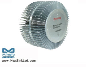 High Power LED Heat Sink Phase Transition Heatsink for Hibay Light (Dia: 230mm*H: 130mm) pictures & photos