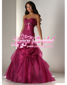 Strapless Party Dress/Evening Gowns(Pa1041)