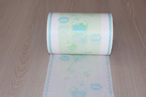Multi-Color Printed Breathable PE Film for Baby Diaper pictures & photos