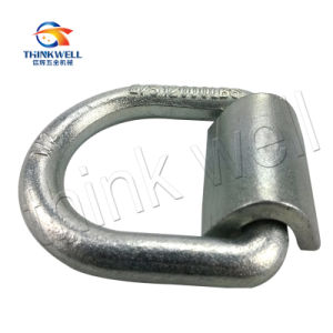 Forged Manganese Steel D Ring for Container/Port/Ship pictures & photos