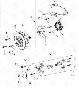 Engine Parts (Diagram-E)