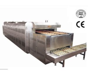 Industrial Bakery Machinery Lone Tunnel Heat Oven for Pizza, Bread, Cake (T-oven) pictures & photos
