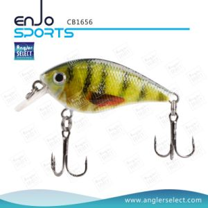 Hard Bait Top Water Fishing Tackle Crank Bait with Vmc Treble Hooks pictures & photos