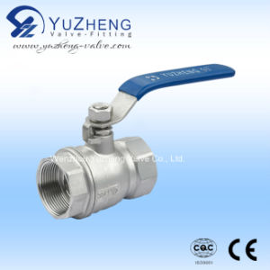 2PC Ball Valve with ISO Mounting Pad and CE Certificate pictures & photos