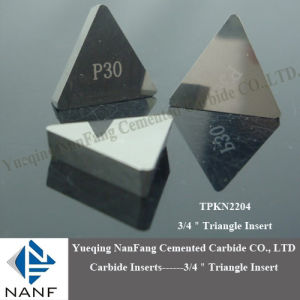 "1/2"" Triangle Carbide Indexible Insert (TPKN1603)"