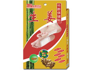 Bamboo Vinegar Plasters with Ginger