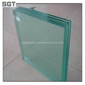 6.38mm Low Iron/Ultra Clear Tempered Laminated Glass with Ce & ISO9001 pictures & photos