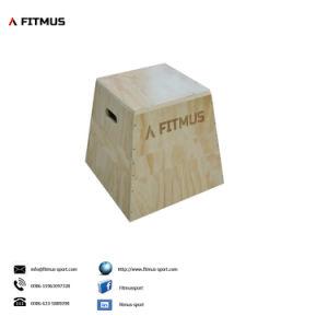 Wooden Puzzle Plyo Box Plyometrics Boxes Wood Plyo Box Plyometric Equipment pictures & photos