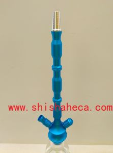 Black Good Quality Wholesale Aluminum Nargile Smoking Pipe Shisha Hookah pictures & photos