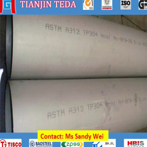 ASTM A312 TP304 Seamless Stainless Steel Pipe pictures & photos