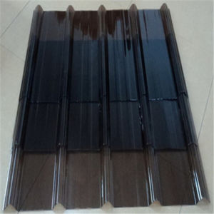 Polycarbonate Transparent Corrugated Sheet PC Corrugated Sheet pictures & photos
