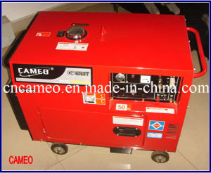 Cp6700t-4.2kw Single Phase Diesel Generator Portable Diesel Generator Silent Diesel Generator Single Phase Diesel Generator 4kw Generator pictures & photos