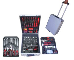 188PCS Germany Design in Aluminium Trolley Case Hand Tool