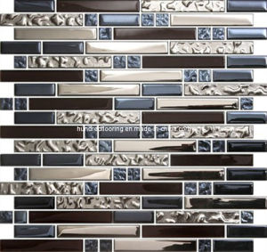 Wall Mosaic Glass Mosaic Tile (HGM266) pictures & photos