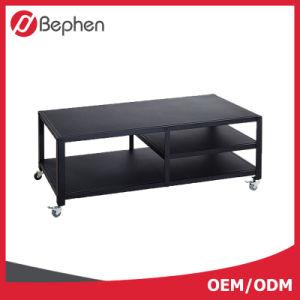 Furniture modern Design Black Metal Frame TV Stand pictures & photos