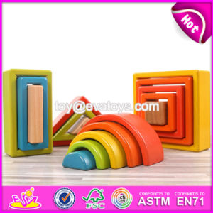 New Design Best Educational Blocks Wooden Kids Construction Toys for Sale Online W13A135 pictures & photos