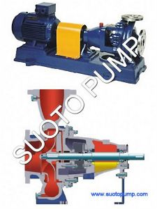 Horizontal Stainless Steel Anti-Corrosion Chemical Pump (IH) pictures & photos