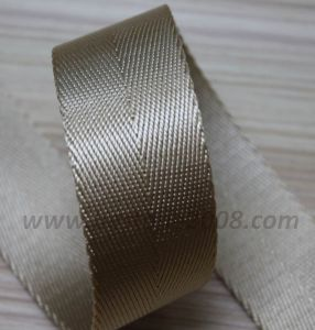 High Quality Herringbone Webbing for Bag and Garment #1401-162 pictures & photos