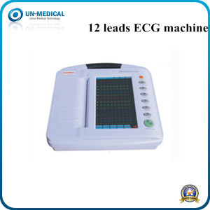 10 Inch Colour Screen Digital Portable ECG Machine for Vet/Veterinary pictures & photos
