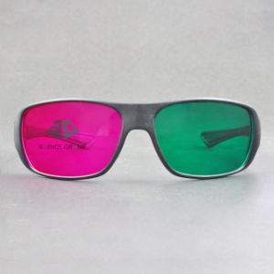 Plastic Green Magenta 3D Glasses (SN3D 034P2)