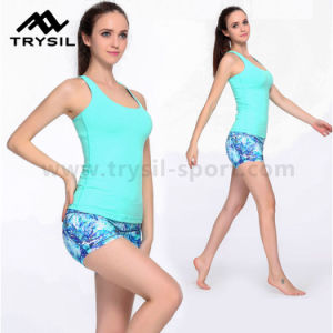 2017 New Arrival Women Sport Wear Compression Short Pants Ladies Fitness Quick Drying Pants Girls Gym Running Pants Yoga Pants pictures & photos