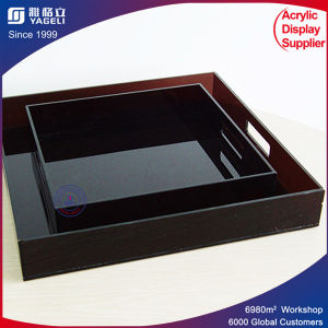 Fashion Design High Quality Acrylic Fruit Tray pictures & photos