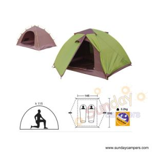 Camping Tent (SCC-707) 2-3 Person Tent pictures & photos
