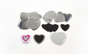 53X57.5mm Rubber Magnet Button pictures & photos