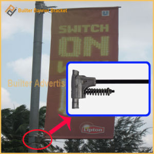 Metal Street Light Pole Advertising Flag Device (BT-BS-024) pictures & photos