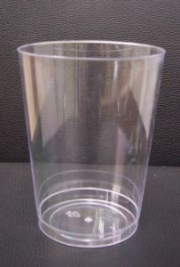 10oz Tumbler Clear Plastic Drinking PS Cups Wine Glass pictures & photos