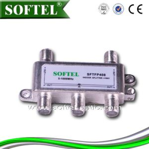5-1000MHz 4 Way CATV Indoor Splitter pictures & photos