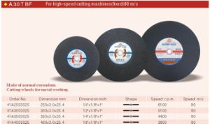 Abrasives Cutting Wheel, Grinding Wheel, Cutting Disc (MPA) pictures & photos