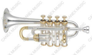 Piccolo Trumpet (GTR-300S) / Brass Instrument Piccolo Trumpet pictures & photos