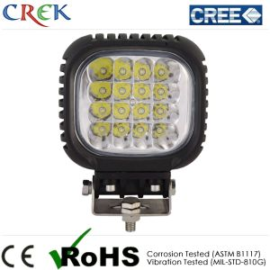 48W CREE LED Work Light with CE RoHS IP68 (CK-WC1603A)