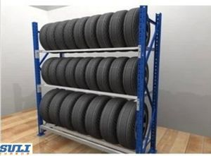 Auto 4s Shop Parts Multi-Tier Tyre Shelving for Storage pictures & photos