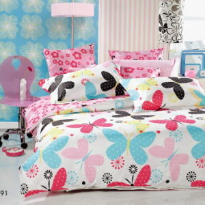 Beautiful/Fashion 100% Cotton/Polyester Bedding Sets for Home/Hotel pictures & photos