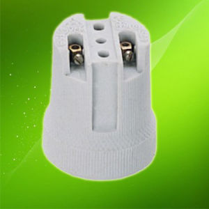 E27 Porcelain Lamp Holder/Ceramics Lamp Holder Ce VDE (HC519) pictures & photos