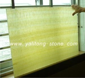 Honey Yellow Onyx Composite Tiles