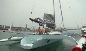 Trimaran Sailing Boat (12m)