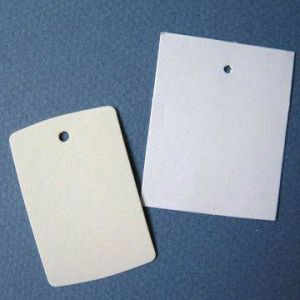 Blank Paper Tags, Stringless, Multiple Use