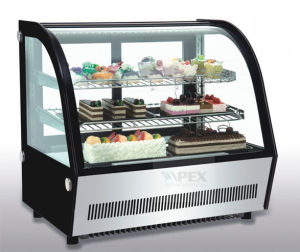 Luxury Style Refrigerated Cake Display Pastry Showcase Chiller for Bakery Equipment pictures & photos