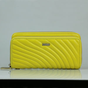 Wholesale Women fashion Clutch Bags Genuine Leather Travel Wallet pictures & photos