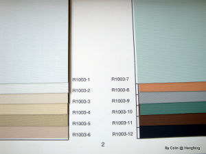 250cm Width Tone-to-Tone Blackout Roller Shade Fabric pictures & photos