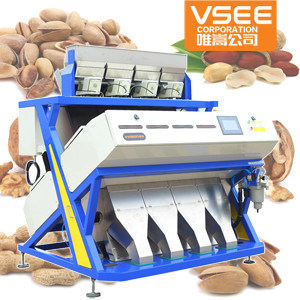 Vsee New Type 5000+Pixel Cashew Nuts CCD Color Sorting Equipment pictures & photos