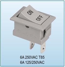 Rocker Switch (KCD5-2P-F)