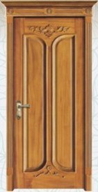 Simple Design Wooden Interior Door (pH-6608) pictures & photos