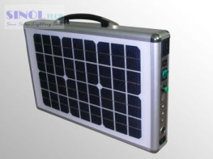10W Portable Solar Power Generator System pictures & photos