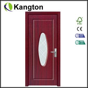 Top Quality Glass Interior PVC Door (PVC door) pictures & photos