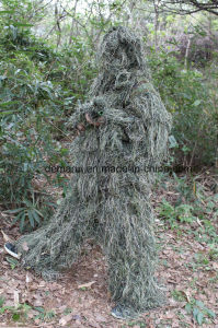 Military Woodland Ghillie Suit for Snipers and Police pictures & photos